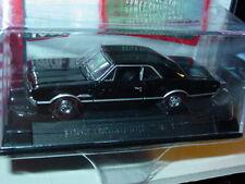 AUTO WORLD 1966 66 OLDSMOBILE OLDS 442 Black, CAR & DRIVER w/PLASTIC CASE