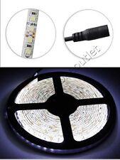 STRISCIA LED 2835 5 METRI STRIP BOBINA 600 LED LUCE BIANCA 6000K WATERPROOF IP55