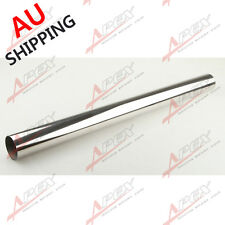 """2.5"""" 63mm STRAIGHT  INTERCOOLER PIPING STAINLESS STEEL MANDREL BEND L=610MM AU"""