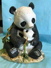 "Masterpiece Porcelain ""Panda With Cub""-1988-cr"