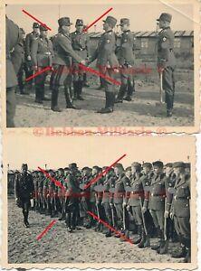 P276 Fotos Reichsarbeitsdienst Lager Emsland Emslandlager Besuch RAD General TOP