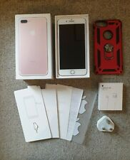 Apple iPhone 7 Plus 128GB Rose Gold Unlocked A1784 Boxed in Excellent Condition