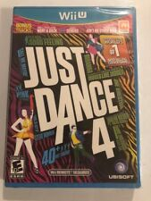 Just Dance 4 Nintendo Wii U *Factory Sealed! *Free Shipping!