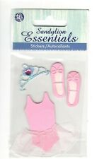 Vintage Sandylion Essentials Stickers BALLET Scrapbooking SD20