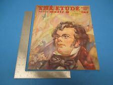 Etude Music Magazine Nov.1947 Vol LXV #11 Chopin`s Prelude, Op. 28 #8 L147