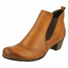 Scarpe da donna marrone cerniera , Numero 42