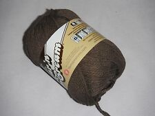 """5 Skeins, Lily, """"Sugar 'N Cream"""", Warm Brown, 100% Cotton Yarn"""