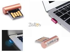 Mini Clé USB Cuivre, Gold Flash drive, USB-Stick 8 Gb Go Ryval