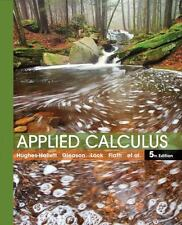 Applied Calculus, Fifth Edition 5th Edition by Deborah Hughes-Hallett (English)