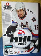EA Sports NHL 2005 PC CD-ROM CIB