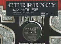 Currency MY House Featuring LiL Wayne Rare 2007 Promo Vinyl LP Cash Money Record