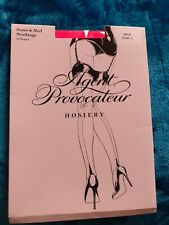 Agent provocateur neon pink seam and heel size 1 Brand new stockings