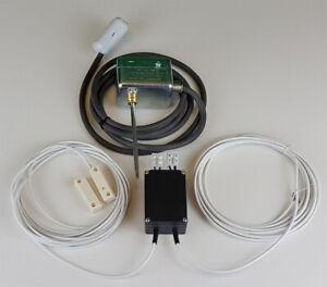 Abluftsteuerung - Fensterkontaktschalter - Rauchgasüberwachung Kabel Einbau