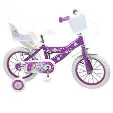 14 Zoll Kinderfahrrad Fahrrad Prinzessin Sofia Mädchen 4 5 6 7 Disney princess