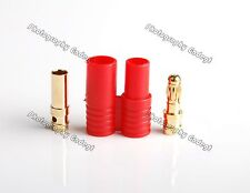 Pack(10) New AMASS 3.5mm Banana Connector Plug & Housing Set for RC ESC Power