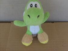"""2009 nintendo 5"""" green yoshi banpresto oop rare video game plush"""