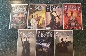 THE HEDGE KNIGHT #1 - #6 (lot of 7 books) (multiple covers) (Image Comics)