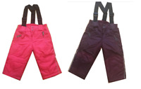 GIRLS SKI TROUSERS SALOPETTES  SNOW PANTS 2 YRS TO 7 YRS