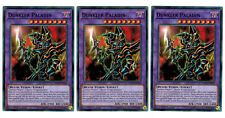 3 x Dark Paladin ledd-dea34, Common, Mint, Playset, German