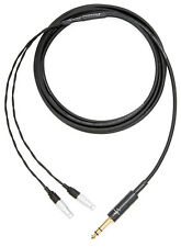 "Corpse Cable for FOCAL UTOPIA Headphones - 1/4"" Stereo Plug - 10ft Length"