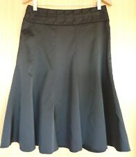 Per Una Ladies Skirt 12 Black Evening Smart BNWT Party Cocktail Satin