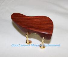 2PCS NEW Natural rosewood VIOLIN CHINREST Ear shape 4/4 chin rest Violin Parts