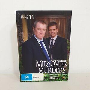 Midsomer Murders Season 11 Part 2 DVD (3-Disc Set) All Region