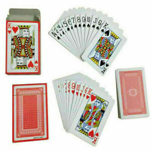 PLASTIC COATED PLAYING CARDS PROFESSIONAL POKER,CARD GAMES, PLAYING CARDS