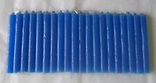 "Chime Spell Candles: Royal Blue, Mini 4"" Box of 20 (NEW) Pagan, Wicca, Altar"