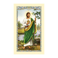St. Jude - Laminated Holy Card