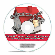 iSpy IP Camera DVR Surveillance Video Recording Software Motion Detection CD V60