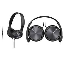 Sony MDR-ZX310AP/B Headphones Sound Monitoring MDRZX310AP Black /GENUINE