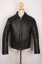 Vtg 60s SCHOTT PERFECTO Steerhide Leather Sheepskin Lined Motorcycle Jacket