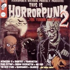 This Is HorrorPunk II by various (CD, Nov-2004, Fiendforce Records) new