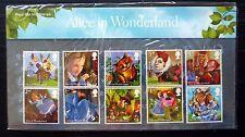 GB 2015 Alice in Wonderland Presentation Pack NB1417