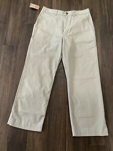 PATAGONIA Ladies Shale Stand Up Cropped Pants Organic Cotton Size 10