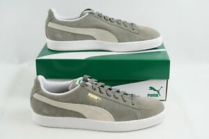 Puma Suede Classic+ 352634 66 Sneakers Casual Grey Men's sz 11 Skate Shoes