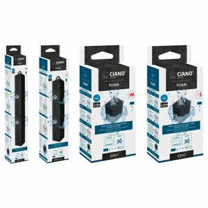 Ciano Aquarium FOAM Filter Media Replacement Cartridges CF40 CF80 CFBIO S/M/L/XL
