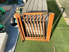 Dreambaby Safety Gate Bordeaux Barclay F2012 With Extension Included All Wood