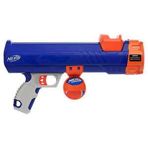 Nerf Dog Tennis Ball Blaster Toy Includes Ball For All Dogs, Puppy - Up To 50ft