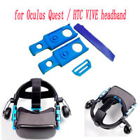 Adjustable Connecting Fittings for Oculus Quest & HTC VR Headband Head Strap Set