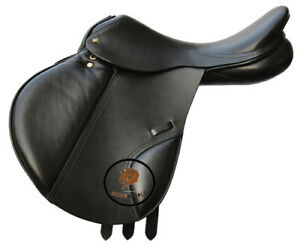 New Genuine Leather English Event Close Contact Horse Leather Saddles