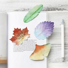 Sticky Leaf Office Bookmark Marker Memo Sticky Notes Sticker Bookmark Leaves ESU