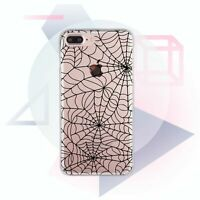 Spider Web iPhone X XR XS Max Rubber Cover iPhone 6s 7 8 Plus Haloween Snap Case
