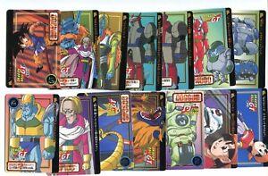 Lotto Carte Cardass Hondan Ccl 27 Dragon Pallina Gt Dbz Bandai