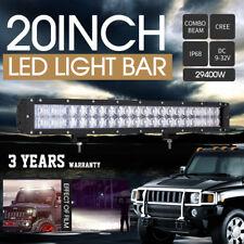 20inch 29400W Spot & Flood CREE LED 7D Lens Combo beam Work Lights Bar Driving