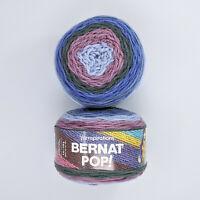 Bernat Pop Yarn Purple Morning 2 Skeins 140g 280yd Per Skein