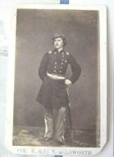 New listing Cdv - Colonel Elmer Ellsworth by Brady - with Ephemera included