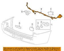 GM OEM Rear Bumper-Harness 23316326