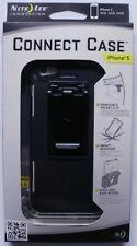 Nite Ize iPhone 5 Connect Case Solid Black Shatterproof IP5-01SC